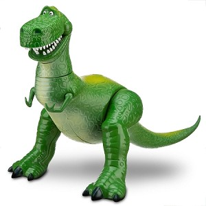 Disney Toy Story Figure - Rex Talking Action - Toy Story