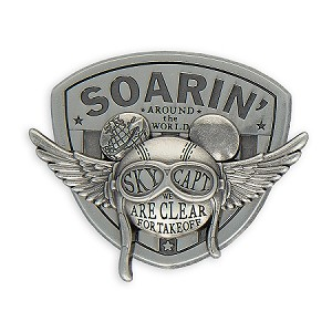 Disney Epcot Pin - Mickey Mouse Soarin' Around the World