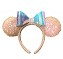 Disney Ears Headband Hat - Minnie Mouse Iridescent Sequins
