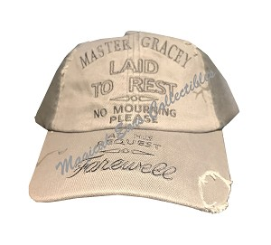 Disney Hat - Baseball Cap - The Haunted Mansion - Master Gracey