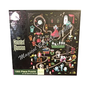 Disney Jigsaw Puzzle - The Haunted Mansion Icons