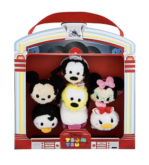 Disney Tsum Tsum Set - 50's Diner Micro Jukebox Set