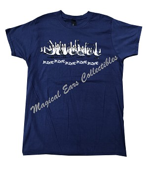 Disney Shirt for Adults - Finding Nemo - Mine Mine Mine - Navy Blue