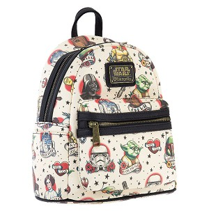 Disney Loungefly Backpack - Star Wars Icons - Mini - Cream