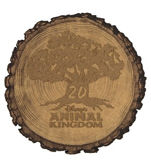 Disney Magnet - Animal Kingdom 20th Anniversary - Wood