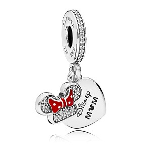 Disney Pandora Charm - Minnie Mouse - Disney Mom