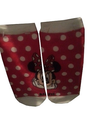 Disney Socks for Women - Polka Dot Minnie Mouse - Disney World