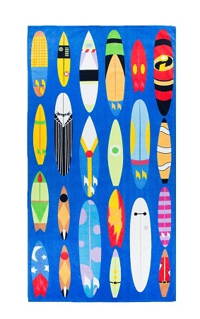 Disney Beach Towel - Character Surfboards