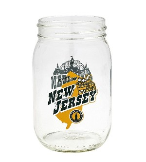 Disney Mason Jar - New Jersey State - Donald's Nephews
