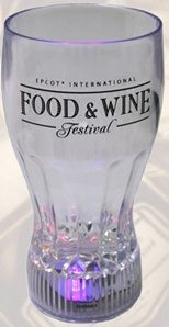 Disney Light up Tumbler - Epcot Food and Wine Festival - 2012