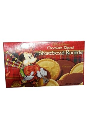 Disney Goofy Candy Co - Mickey Shortbread Rounds - Chocolate