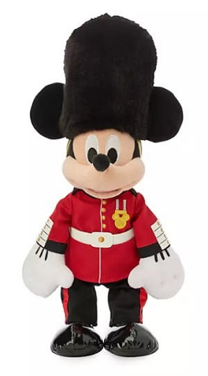 Disney World Showcase Plush - Mickey Queen's Guard - United Kingdom