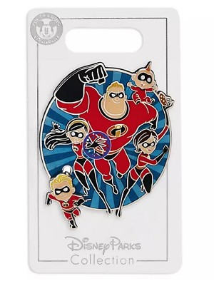 Disney Incredibles Pin - The Incredibles Family