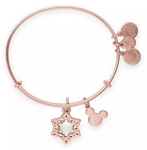 Disney Alex & Ani Bracelet - Mickey Mouse Icon Snowflake