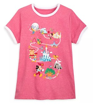 Disney Shirt for Women - Mickey and Friends Ringer - Disney Park Life