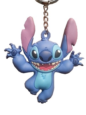 Disney Keychain - Stitch - Rubber