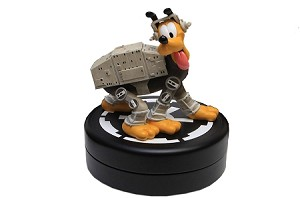 Disney Figure Statue - Star Wars - Pluto as an AT-AT