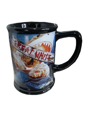 Sea World Coffee Mug - Great White Shark