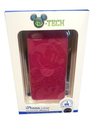 Disney Iphone 5 Case - Flexible Minnie Mouse - Pink
