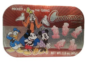 Disney Goofy's Candy Co - Cinnamon Mints - Mickey & Gang